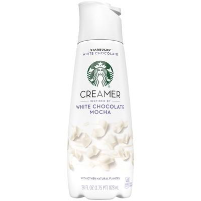 Starbucks White Chocolate Mocha Creamer - 28 fl oz