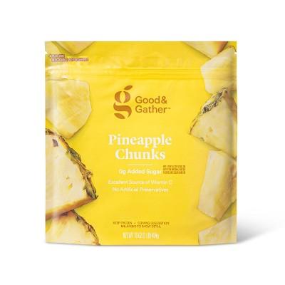 Frozen Pineapple Fruit Chunks - 16oz - Good & Gather™