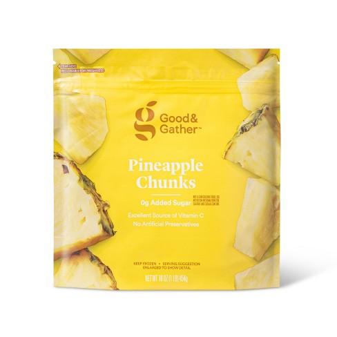 Frozen Pineapple Fruit Chunks - 16oz - Good & Gather™ - image 1 of 2