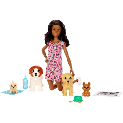 Barbie Doggy Daycare Nikki Doll & Pet - image 1 of 4