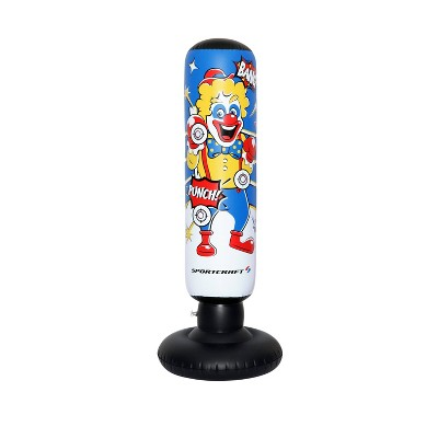 Sportcraft Electronic Clown Inflatable Punching Tower Bag