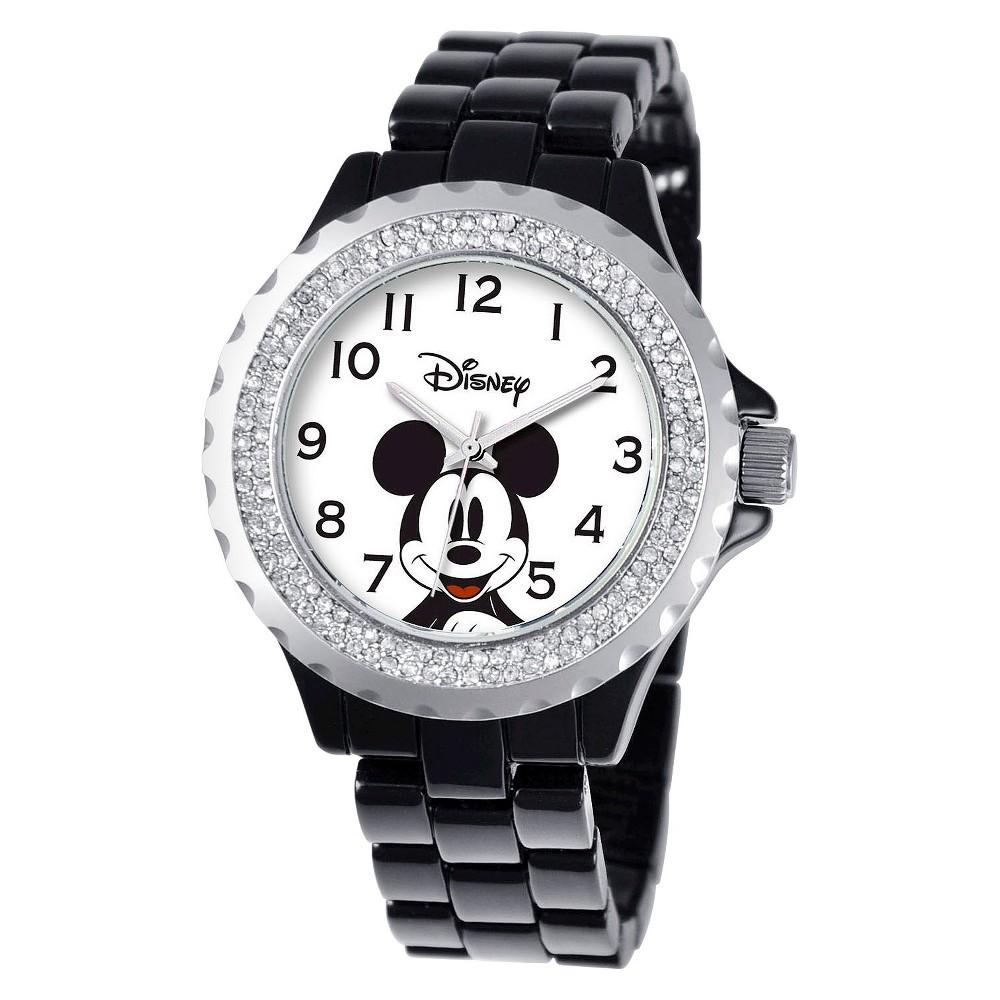 Women 39 Diney Mickey Moue Enamel parkle Watch