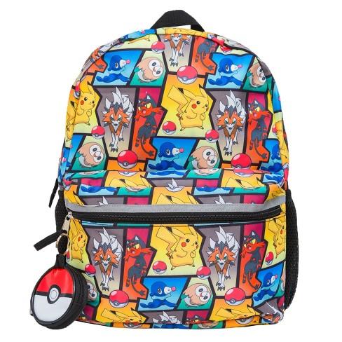 "Pokemon 16"" Kids' Backpack - Red/Blue/White - image 1 of 4"