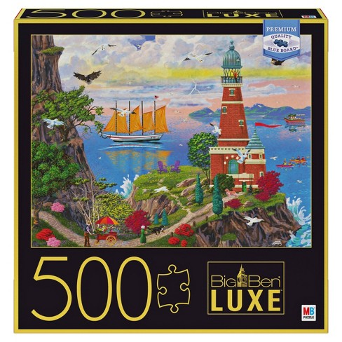 Big Ben Luxe: Lighthouse Puzzle 500pc - image 1 of 4