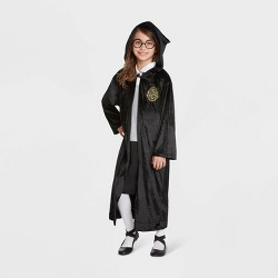 Kids Harry Potter Four House Logo Halloween Costume Robe