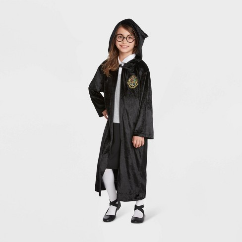 Kids Harry Potter Four House Logo Halloween Costume Robe - image 1 of 2