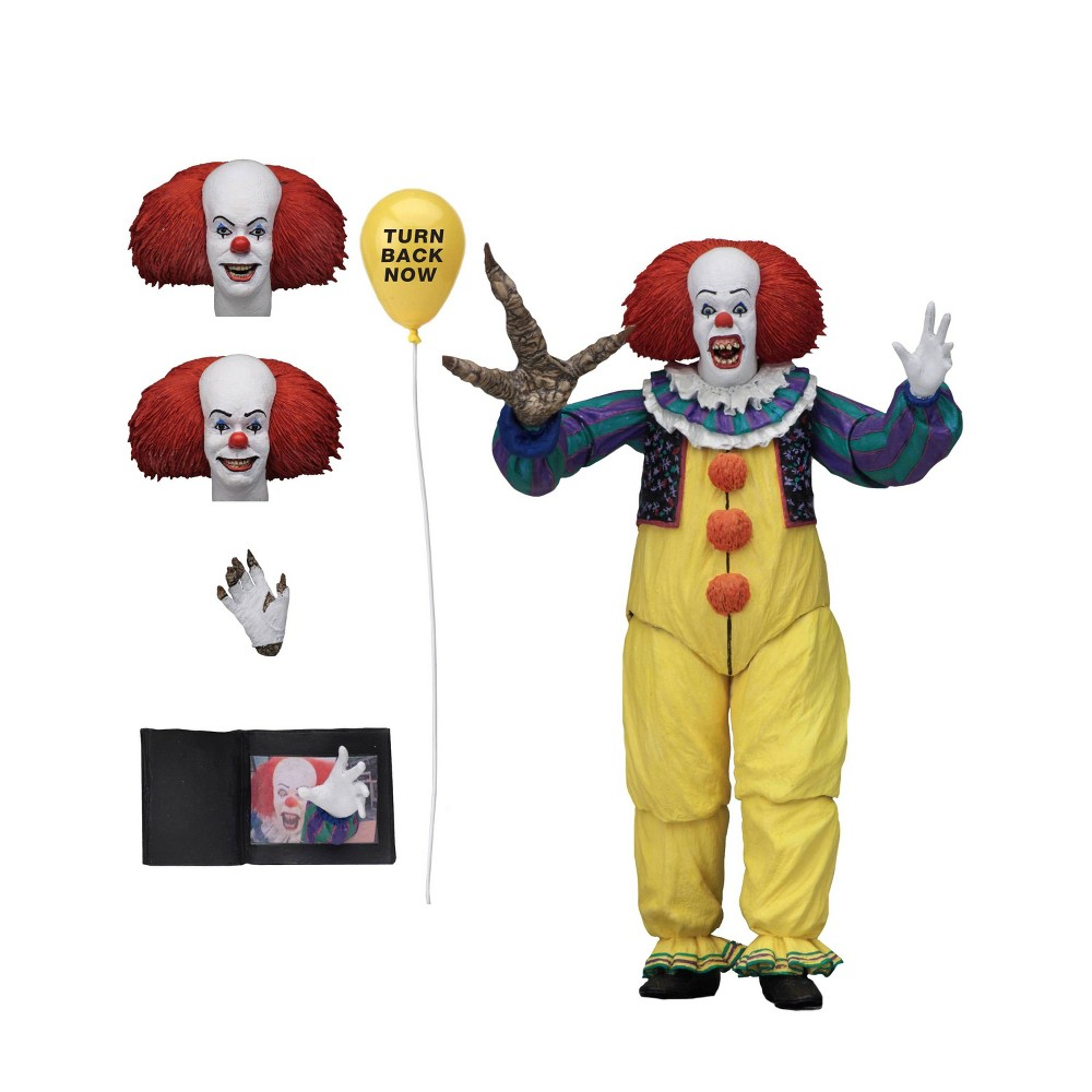 """Image of """"It (1990) Ultimate Pennywise v.2 7"""""""" Action Figure"""""""