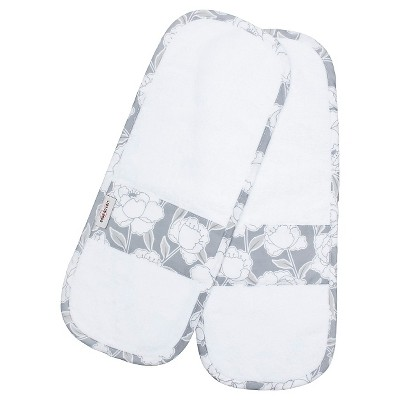Bébé au Lait 2pk Cotton Burp Cloth Set - Descanso