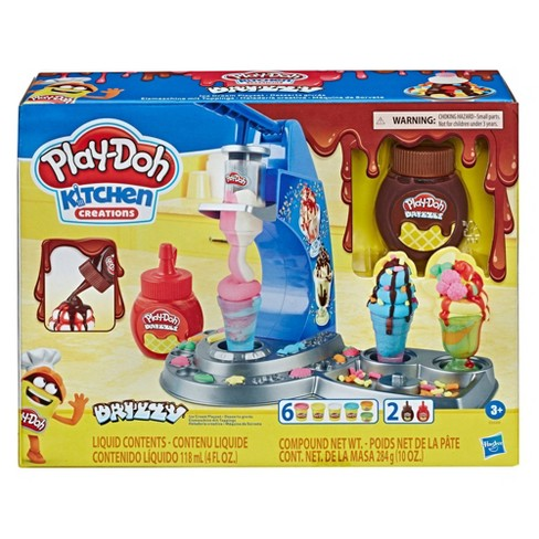 Play Doh Kitchen Creations Drizzy Ice Cream Playset Target
