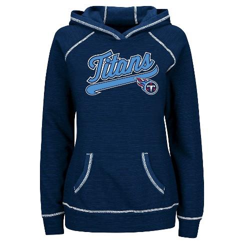 0fcb003a Tennessee Titans Women's Fleece Pullover Hoodie Sweatshirt M