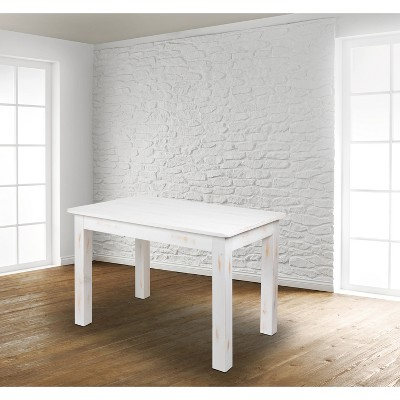 "Flash Furniture 46"" x 30"" Rectangular Solid Pine Farm Dining Table"