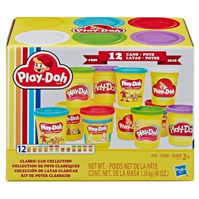 Play-Doh Retro Compound Pac Classic Can Collection - 12pk
