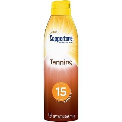 Coppertone Tanning Dry Oil Sunscreen Spray - SPF 15 - 6oz