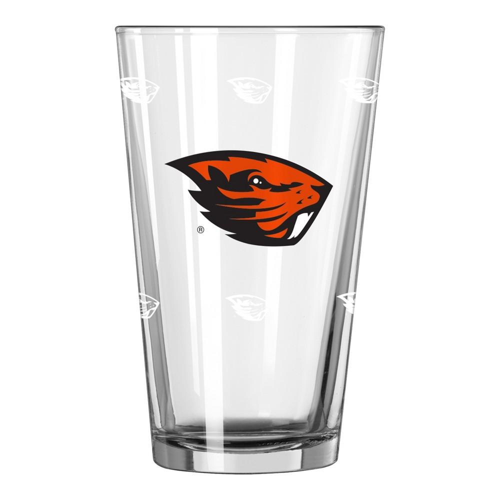 NCAA Oregon State Beavers Single Boxed Pint Glass - 16oz