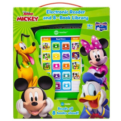 Disney Mickey Mouse Clubhouse Electronic Me Reader Story Reader and 8-book Boxed Set