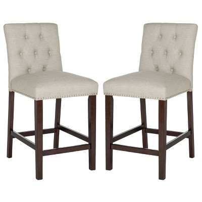 Set of 2 Counter and Barstools - Safavieh