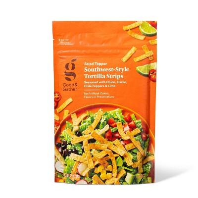 Santa Fe Tortilla Strips Salad Topper - 3.5oz - Good & Gather™