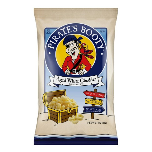 Pirate's Booty Aged White Cheddar Puffs - 1oz - image 1 of 3