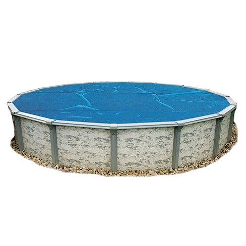 12' Round 8-mil Solar Blanket for Above Ground Pools - Blue - image 1 of 2