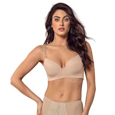 Leonisa full coverage underwire push up bra for women