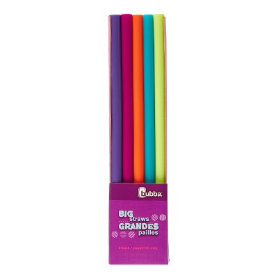 Bubba Set of 5 Plastic Reusable Straws