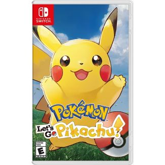 Pokemon: Lets Go Pikachu! - Nintendo Switch