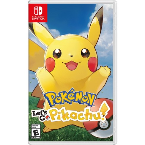 Pokemon: Let's Go Pikachu! - Nintendo Switch - image 1 of 8