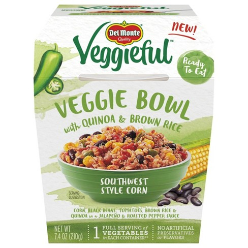 Del Monte Veggieful Bowl Southwest Style Corn - 7.4oz - image 1 of 1
