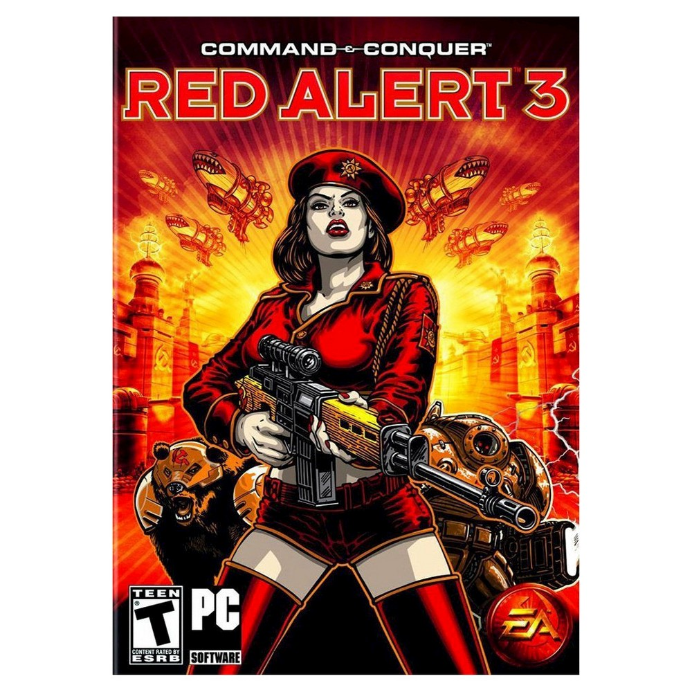 Electronic Arts Command & Conquer: Red Alert 3 - PC Game ...