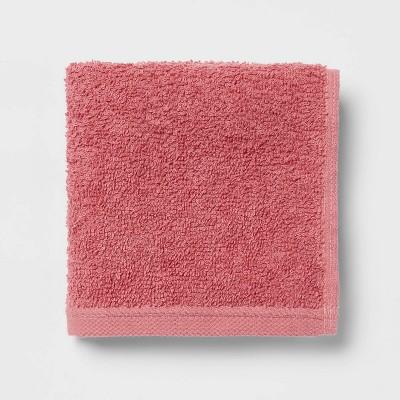 Everyday Washcloth Pink - Room Essentials™