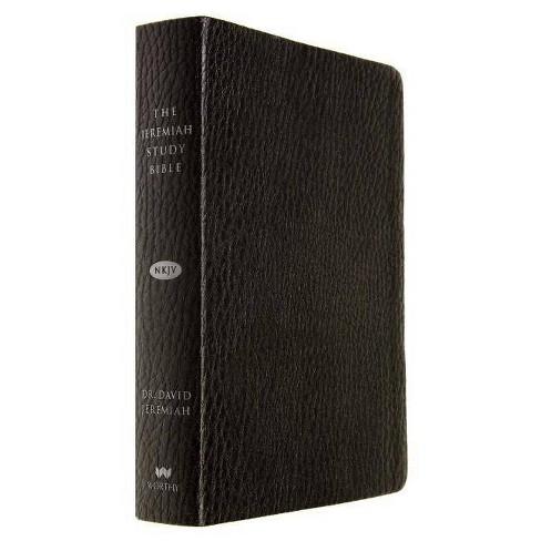 Jeremiah Study Bible-NKJV - by  David Jeremiah (Leather_bound) - image 1 of 1