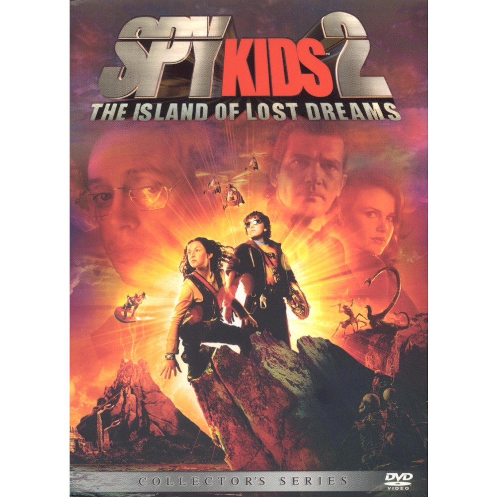 Spy Kids 2: The Island of Lost Dreams (Collector's Series) (dvd_video)
