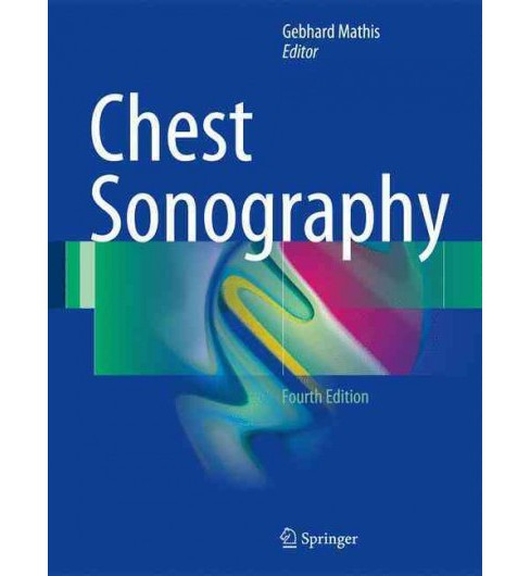 Chest Sonography -  (Hardcover) - image 1 of 1