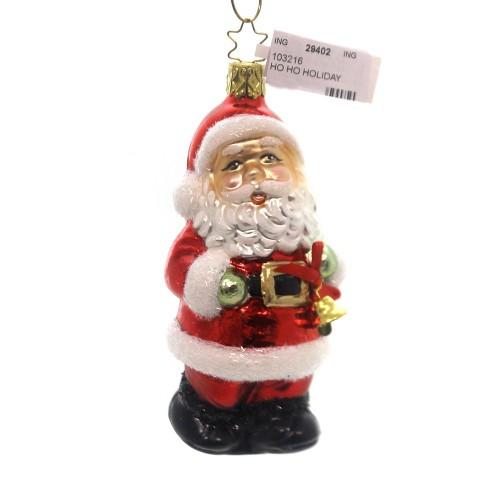 Inge Glas Ho Ho Holiday Germany Santa Claus - image 1 of 2