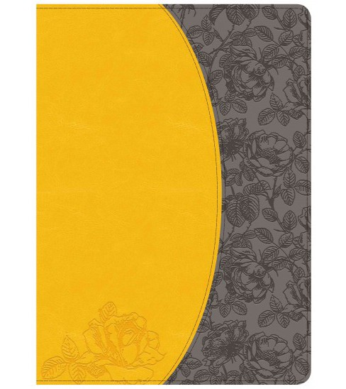 Holman Study Bible : New King James Version, Canary / Slate Grey Leathertouch (Indexed) (Paperback) - image 1 of 1