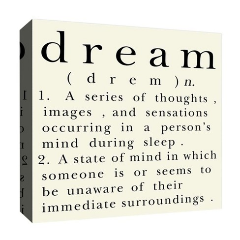 "Dream II Decorative Canvas Wall Art 16""x16"" - PTM Images - image 1 of 1"
