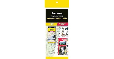 Panama Adventure Set : Map & Naturalist Guide (Revised) (Paperback) - image 1 of 1
