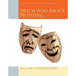 Much Ado about Nothing - (Oxford School Shakespeare) by  William Shakespeare (Paperback)