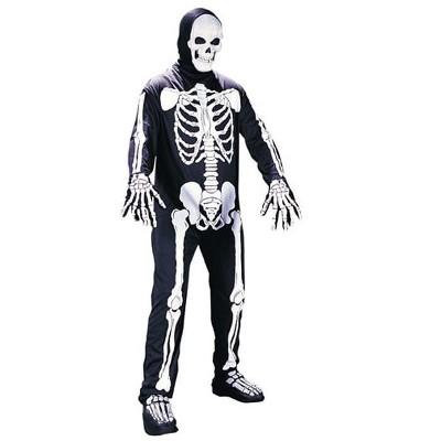 Fun World Skeleton Jumpsuit Costume Adult