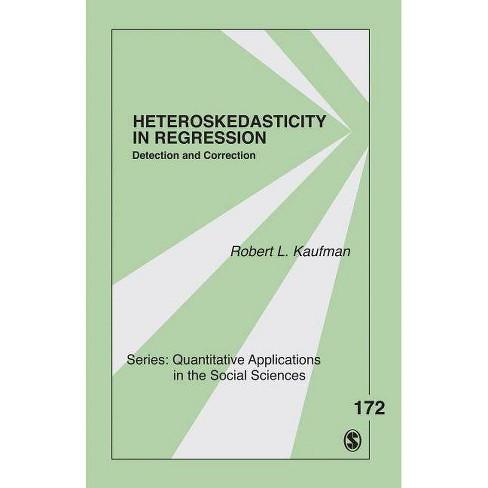 Heteroskedasticity in Regression - (Quantitative Applications in the Social Sciences) (Paperback) - image 1 of 1