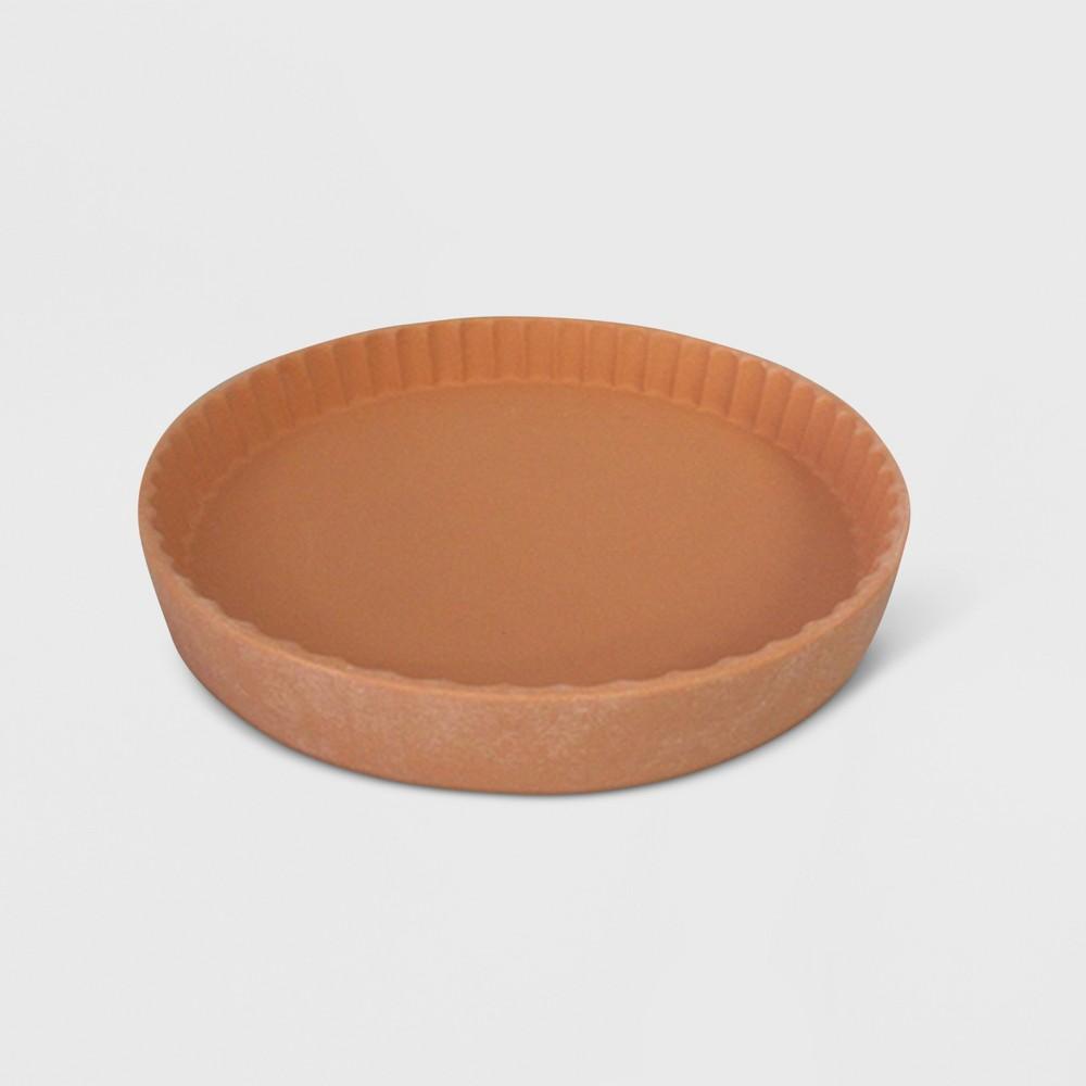 8 Stoneware Tray Terracotta - Smith & Hawken, Red