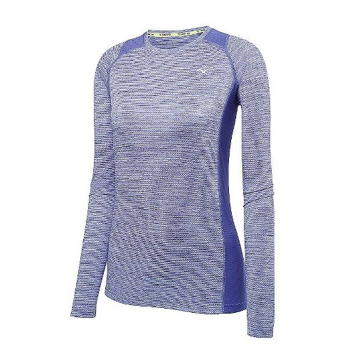 fea5f2d2f908 Mizuno Women's Alpha Long Sleeve Running Tee, Size Large In Color ...