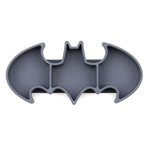 Bumkins DC Comics Batman Grip Dish - Gray - image 1 of 4