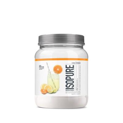 Isopure Infusions Protein Powder - Citrus Lemonade - 14oz