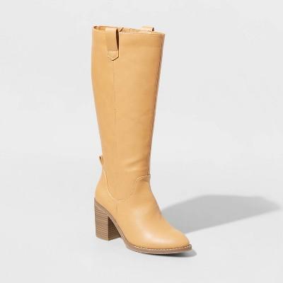 Women's Davinia Heeled Riding Boots - Universal Thread™