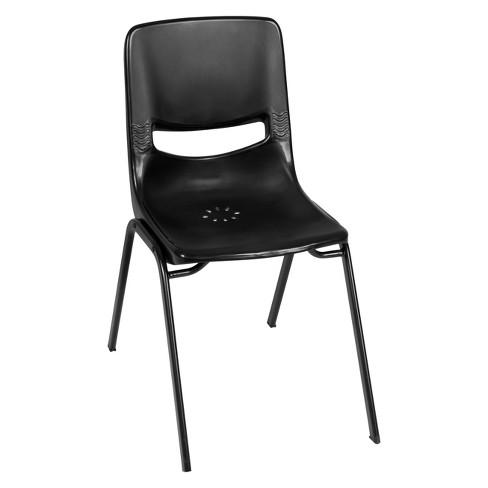 Charm Stack Chair Black - Regency - image 1 of 3