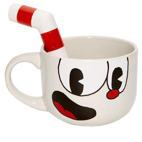 Just Funky Cuphead 20oz Ceramic Molded Mug, Cuphead - image 1 of 6