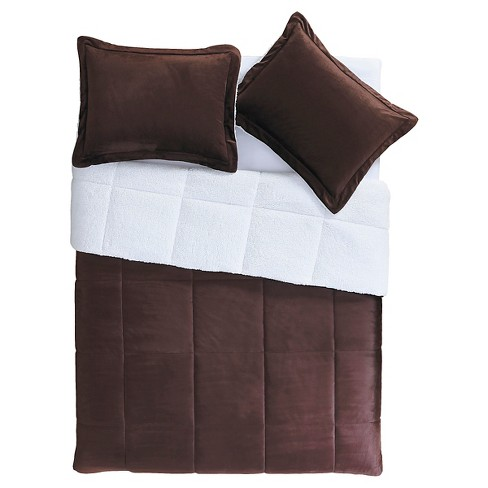 Micro Mink Sherpa Comforter Set - VCNY® - image 1 of 3