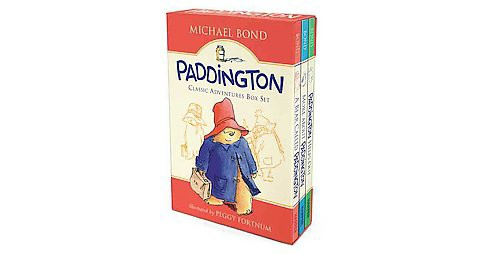 Paddington Classic Adventures Box Set : A Bear Called Paddington, More About Paddington, Paddington - image 1 of 1