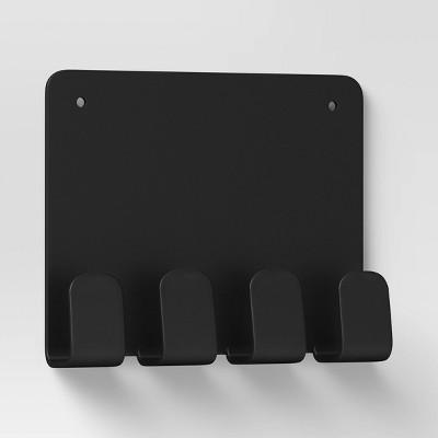 Mini Wall Ledge with Hooks Square - Room Essentials™